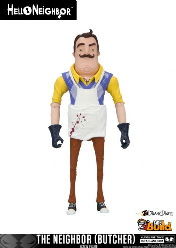 Hello Neighbor The Neighbor Butcher Action Figure
